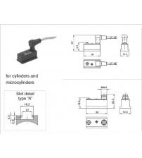 RS8.DC Pneumax M8 konnektörlü sensör